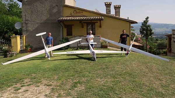 Aeromodellisti del monte Catria.