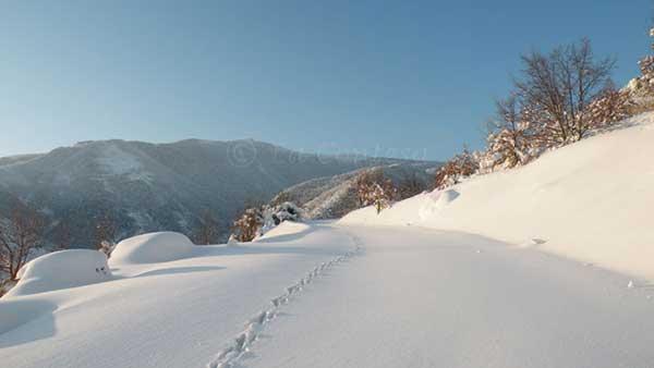 Strada monte Catria, chiusa al traffico nei mesi invernali
