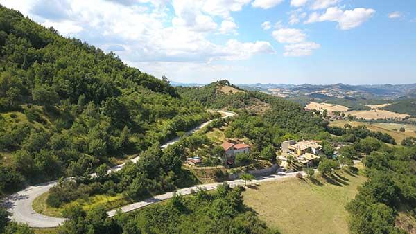 foto aerea panoramica La Contesa