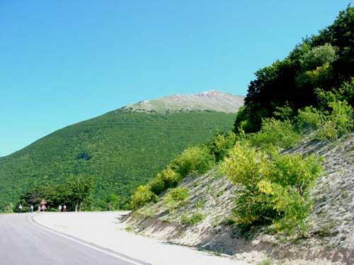Provincia Pesaro Urbino, Monte Acuto visto dal Sentiero Frassati.